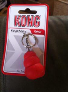 Kong gear keychain