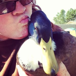 I kiss my duck