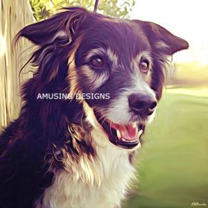 Beautiful computer pet portraits