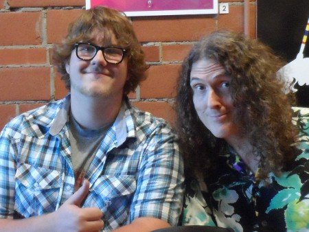 Weird Al Yankovic and my boy