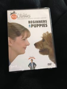 Beginners and Puppies training DVD giveaway
