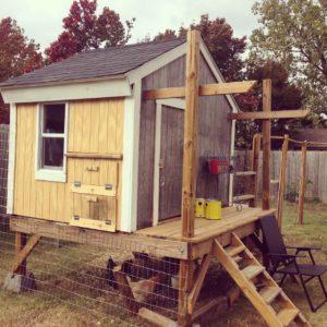 Handsome chicken coop