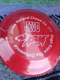 The Flying Disk Package for the Chewer's Gift