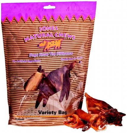 Jones Variety Bag of treats for dogs