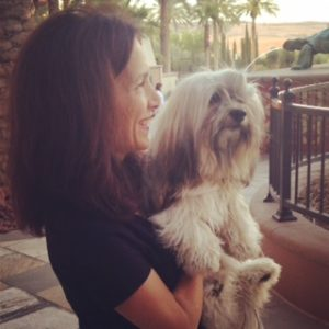 Havanese and his mama
