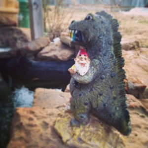 Godzilla and the Gnome