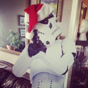 Festive Stormtrooper