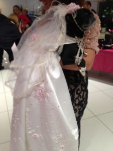 PPP Design Pug wedding gown