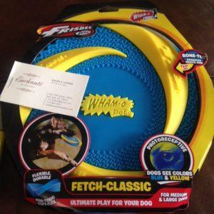 Wham-O Dog Frisbee giveaway