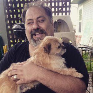 Hunny and his wee dog