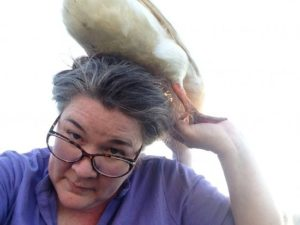 What's a duck doing on my head?