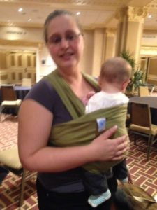 A baby at BlogPaws?!