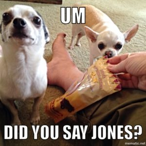 Um, did you say Jones?