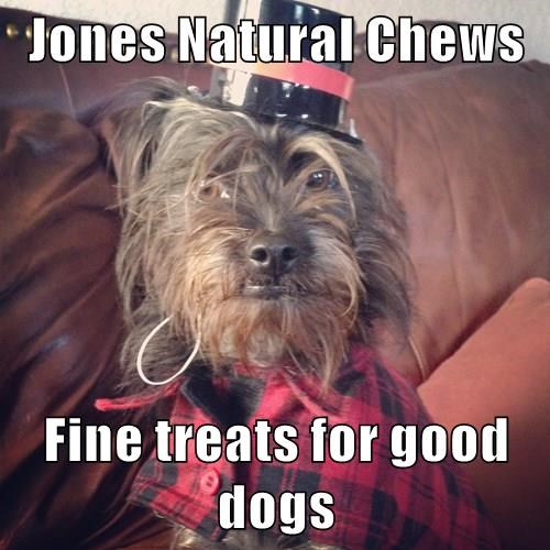 Fine treats for good dogs