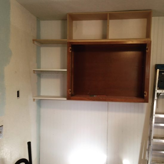Extra storage in a kitchen remodel