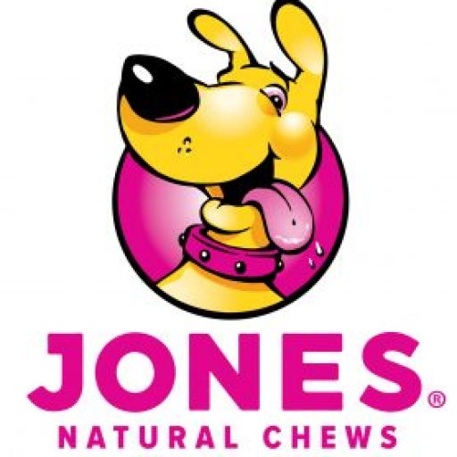 Rocky, the Jones Natural Chews mascot, agrees that proudly made in the USA is important.